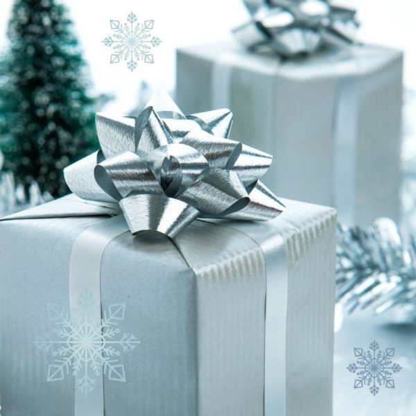 photo of wrapped holiday gifts for gift wrapping service